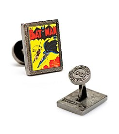 DC Comics Men's Batman First Issue Comic Book Cover Cufflinks