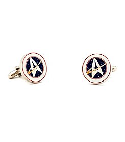 Star Trek Men's Starfleet Command Cufflinks