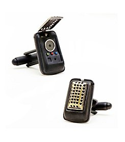 Star Trek Men's 3D Communicator Cufflinks