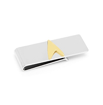 Star Trek Men's Two-Tone Delta Shield Money Clip