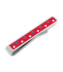 Ox & Bull Men's Patriotic Polka Dot Tie Bar
