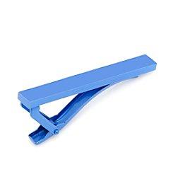 Ox & Bull Men's Blue Stainless Steel Tie Clip