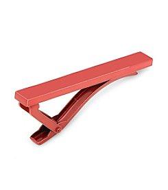 Ox & Bull Men's Red Stainless Steel Tie Clip