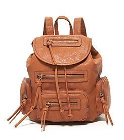GAL Veg Tan Flap Backpack