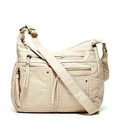 GAL Washed Grain Pocket Hobo