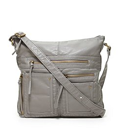 GAL Washed Grain Pocket Crossbody