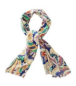 Lauren Ralph Lauren® Venice Paisley Silk Oblong Scarf
