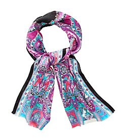 Lauren Ralph Lauren® Lalani Silk Jacquard Paisley Oblong Scarf