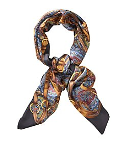 Lauren Ralph Lauren® Camilla Silk Iconic Belted Paisley Oblong Scarf