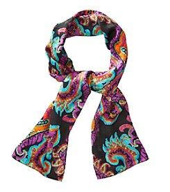 Lauren Ralph Lauren® Michelle Paisley Print Silk Jacquard Oblong Scarf