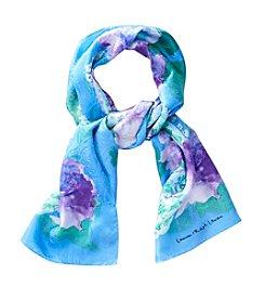 Lauren Ralph Lauren® Naomi Watercolor Floral Paisley Silk Oblong Scarf