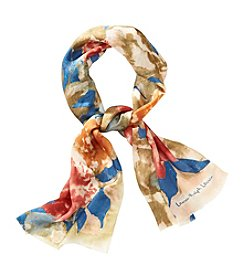 Lauren Ralph Lauren® Cynthia Floral Silk Jacquard Oblong Scarf