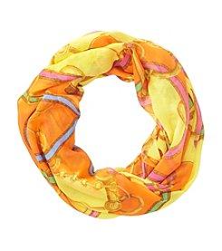 Lauren Ralph Lauren® Palermo Belt Print Infinity Loop Scarf