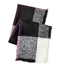 Lauren Ralph Lauren® Mohair Blanket Plaid Scarf