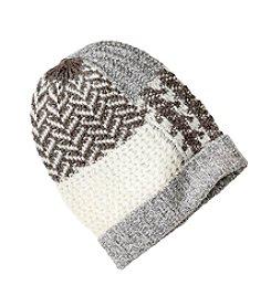 Lauren Ralph Lauren® Mosaic Stitch Menswear Cuff Hat