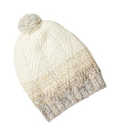 Lauren Ralph Lauren® Mohair Dipped Aran Hat With Pom