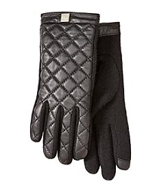 Lauren Ralph Lauren® Quilted Logo Cube Touch Gloves