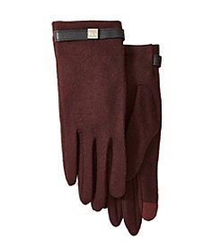 Lauren Ralph Lauren® Long Cube Belted Touch Gloves