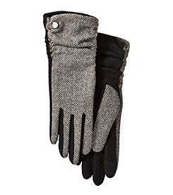 Lauren Ralph Lauren® Herringbone Gathered Touch Gloves