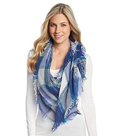 Free Spirit ™ To Space And Beyond Check Square Scarf