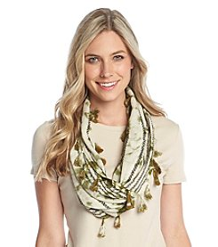Free Spirit™ Ink Wash Mini Loop Scarf