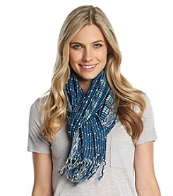 Free Spirit™ Patterned Slub Scarf