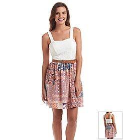 A. Byer Strappy Bandana Dress