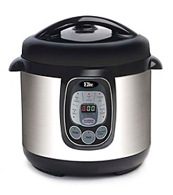 Elite Platinum 8-qt. Digital Pressure Cooker with Nonstick Pot