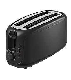 Elite Cuisine 4-Slice Long Slot Cool Touch Toaster
