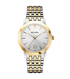 Bulova® Men's Classic Two Tone Watch