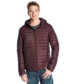 32 Degrees Men's Packable Down Jacket with Hood