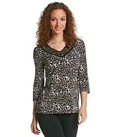 Chanteuse® V-Neck Pajama Top