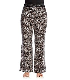 Chanteuse® Plus Size Printed Lounge Pants