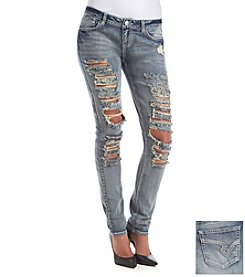 Hippie Laundry Extreme Destruction Skinny Jeans