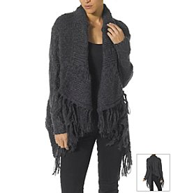 Silver Jeans Co. Fringe Trim Cardigan