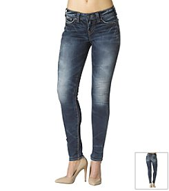 Silver Jeans Co. Crackle Super Skinny Jeans