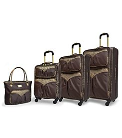 Adrienne Vittadini® 1680D Textured Dobby 4-pc. Luggage Set