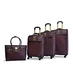 Adrienne Vittadini® 1680 Nylon 4-pc. Luggage Set