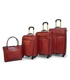 Adrienne Vittadini® Stingray PU 4-pc. Luggage Set