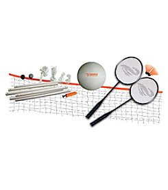 Triumph Sports USA™ Beginner Badminton and Volleyball Set