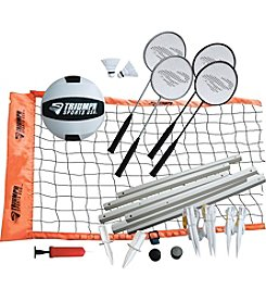 Triumph Sports USA™ Advanced Badminton and Volleyball Set