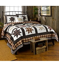 Ruff Hewn Patchwork Bear Quilt Collection