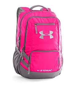 Under Armour® Hustle Tropic Pink Backpack
