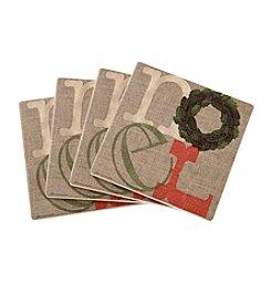 Thirstystone® Noel Coasters