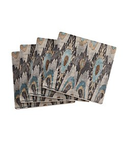 Thirstystone® Blue And Brown Ikat Coasters