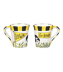 NCAA® University of Iowa Flags Mug