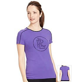Lauren Active® Stretch Jersey Graphic T-Shirt