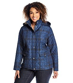 Breckenridge® Plus Size Printed Short Quilt