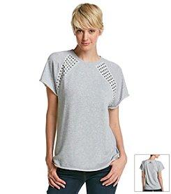 MICHAEL Michael Kors® Studded Raglan Sweatshirt