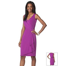 Chaps® Sleeveless Sheath Dress